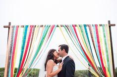 Fun Wedding Arch Ideas
