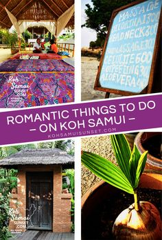 Romantic things to do on Koh Samui: romantic activity ideas for couples // #Samui #Thailand #honeymoon // http://www.kohsamuisunset.com/koh-samui-romantic/