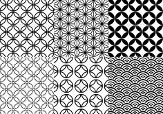 japanese geometric patterns - Google Search