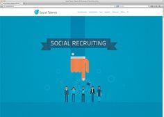 SocialTalents.ch - Social HR #webdesign #inspiration #UI