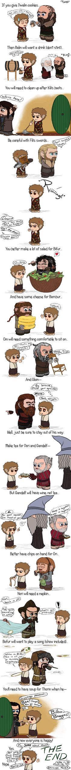 HOBBIT: If You Give by Kumama on deviantART