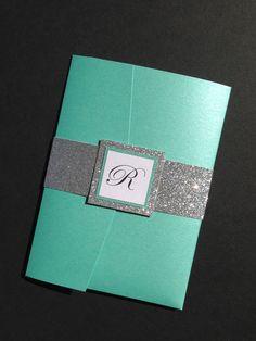 Blue wedding invitations cheap royal blue diy wedding invitation teal wedding invitation suite turquoise and silver glitter invitation wedding invitation suite glitter modern wedding filmwisefo