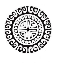 polynesian-sun-design-with-a-marquesan-cross-in-the-center.jpg (464×512)