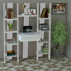 escritorio biblioteca organizador mueble estudio