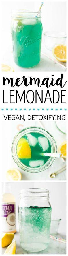 Mermaid Lemonade - Summer's Best Detox