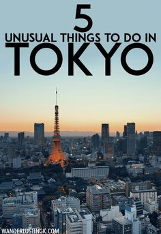 Planning your trip to Tokyo Japan? Five unusual things to do in Tokyo that you'll want to add to your agenda to soak in Japanese culture! Tokyo Travel Guide, Japan Travel Tips, Asia Travel, Japan Destinations, Visit Tokyo, Unusual Things, Travel Light, Beautiful Places To Visit, Culture Travel