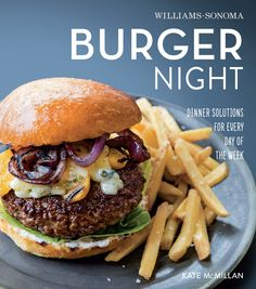 The weekend is here so it's time to treat yourself with some really tasty food. This epic burger with sweet potato fries from Burger Night, by Kate McMillan, is the perfect combination for you, and anyone else gathered around the table. It's easy on the eyes and satisfying to the ...