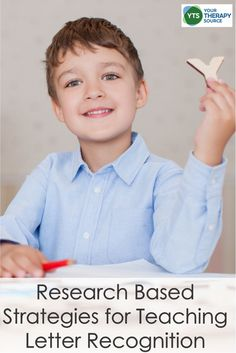 When you consider different research based strategies for teaching letter recognition, do you think of handwriting practice? Maybe you think of writing the letters specifically, but research shows that writing in general can help with letter recognition. Teaching Letter Recognition, Teaching Letters, Teaching Kids, Preschool Learning, Visual Motor Activities, Visual Perceptual Activities, Literacy Activities, Life Skills Classroom, Psychological Science