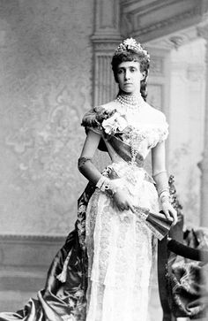 Maria Theresa of Portugal, Archduchess of Austria. 1880's. From Scala Regia.