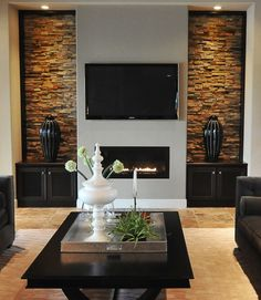 Wall Units, Stunning Entertainment Wall Unit Ideas Built In Wall Entertainment Center Ideas Contemporary Living Rooms Modern Living Room Designs Fireplace Tv Stand Two Cabinet: glamorous entertainment wall unit ideas