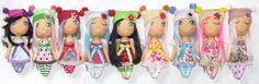 Andělky / Little Angel Dolls Angel, Dolls, Handmade, Hand Made, Angels, Puppet, Doll, Craft, Baby