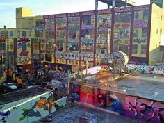 5Pointz graffiti in Queens New York