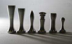 Mid century chess set.
