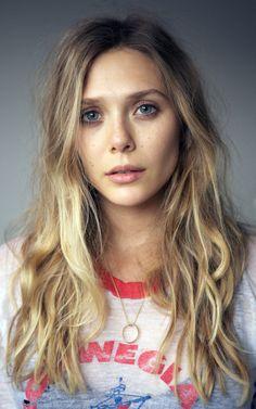 Elizabeth Olsen - goal length/color of hair