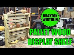 How to build a DIY reclaimed Pallet Wood Shelf