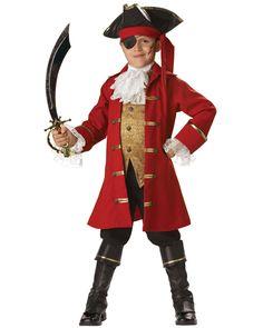 Elite Pirate Captain Child Costume