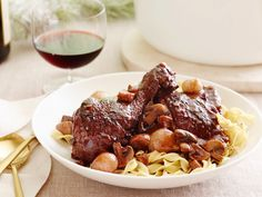 Coq au Vin Recipe : Alton Brown : Food Network - FoodNetwork.com