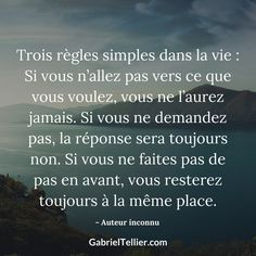 #citation #citationdujour #proverbe #quote #frenchquote #pensées #phrases #french #français Psychology Programs, Psychology Internships, Psychology Student, Psychology Quotes, Motivational Quotes For Life, Positive Quotes, Life Quotes, Miracle Morning, Leadership Roles