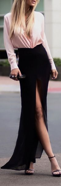 elegant long dress