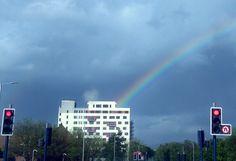 Rainbow over Ashton-under-Lyne