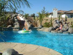 Foam Outdoor Pool Fountain
