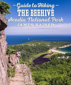 Hiking tips, trail description and photos of The Beehive Trail in Acadia National Park! Discover one of the best trails on the coast of Maine! Acadia National Park, Us National Parks, Maine Road Trip, Road Trips, Acadia Maine, Maine In The Fall, Travel Usa, Travel Maine, East Coast Travel