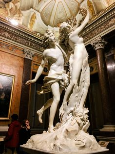 Inside Designer Cynthia Rowley's Family Trip to Rome:  Bernini's Apollo and Daphne at the Museum Borghese…Epic! | coveteur.com