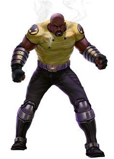 Marvel XP: Dossiers / Luke Cage / Marvel: Avengers Alliance