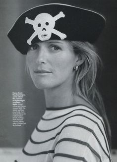 Piracy. Again and again and again.  India Hicks