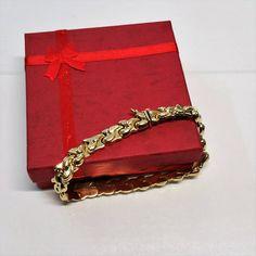 Armband Gliederarmband Gold 585 edel selten GA108