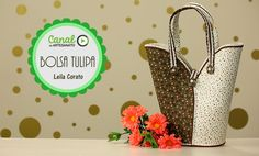 Bolsa tulipa - Leila Corato