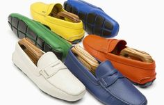 Prada driving shoes…which color will your choose? Men's Shoes, Dress Shoes, Italian Lifestyle, 2014 Fashion Trends, Fashion Show, Mens Fashion, Driving Shoes, Cover Photos, Loafers Men