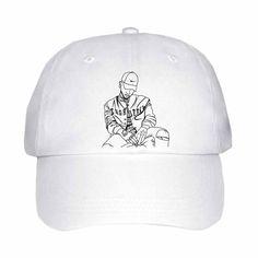 9a32acccee9 Bryson Tiller pen griffey trapsoul White Hat Cap 2