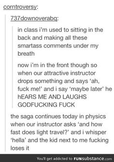 This is sooo me. Every class queen of sass