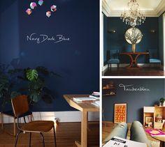 Wohnen // <br/> Blau, Blau, Blau sind alle meine Wände