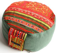 Unique Meditationcushion Yoga Floor Seat Cushion  by janebrandt