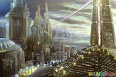- Goldfrapp - Utopia ( dystopia more likely, new world dis-order ,lol) Future City, Utopian Society, Sci Fi City, Steampunk, The Giver, Futuristic City, The Future Is Now, Famous Architects, Science Fiction Art