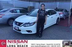 Congratulations Jessica on your #Nissan #Altima from Juan Trinidad at Nissan of Long Beach!  https://deliverymaxx.com/DealerReviews.aspx?DealerCode=RHAF  #NissanofLongBeach