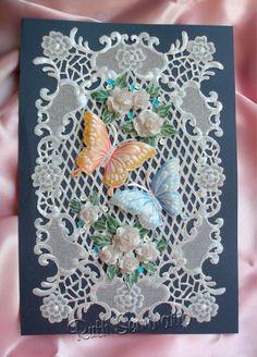Portada para Album de Firmas de Matrimonio/Pergamino/Pergamano/ Parchment Craft/ パーチメント / пергамано / Pergamentkunst Parşömen/Ruth Seminario