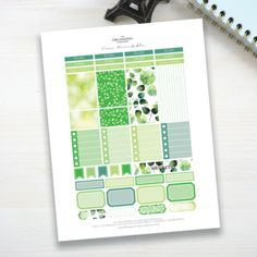 Free March Printable Stickers