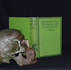 """Witchcraft and the Black Art - A Book Dealing with the Psychology and Folklore of The Witches"". An early 2nd edition of only 6,500 copies, undated but printed in the mid to late 1920's. Printed in London by Butler and Tanner ltd. The book deals with the history & folklore of witchcraft, vampirism, demonology, spells, the evil eye, possession, persecution, ceremonies / initiations, etc... etsy.com/shop/CosmicLibrary"