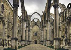 Couvent des Carmes à Lisbonne Portugal (Flickr)