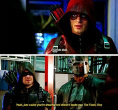 """""""Even if you trigget the C4 with an arrow, at a distance, you'll still need to outrun the blast radius."""" #Arrow #4x12"""