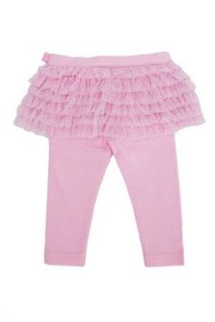 Gorgeous Tutu Leggings in Pink.  Beautiful Soft fabric Cotton & Elastane  Recommendation Match up with a little pair of Beautiful Soles MJs Snow White