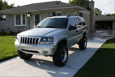lifted jeep grand cherokee overland - Google Search