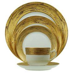 Porcel Auratus Dinnerware