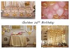 Beth Beattie Branding, PR and Events: Golden 25th Birthday