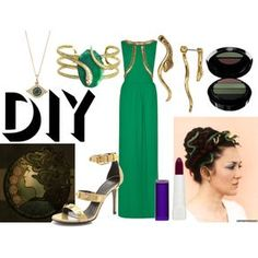 """DIY Halloween Costume: Medusa"""