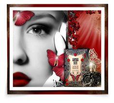 """Anna Sui La Nuit de Boheme"" by kiki-bi ❤ liked on Polyvore featuring beauty and Anna Sui"