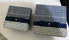 kit de caixa mdf decorada com tecido